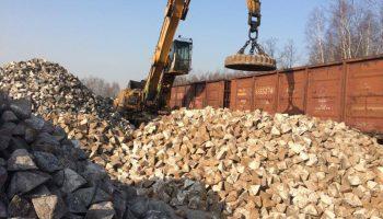 Pierwszy przeładunek – surówka 1250 ton